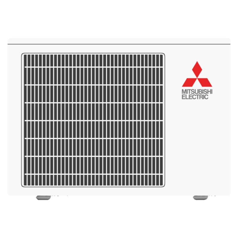 Mitsubishi single-zone cooling outdoor unit.