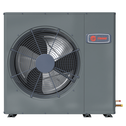 Trane XR16 low profile air conditioner.