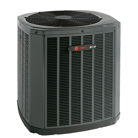 Trane XR15 heat pump.