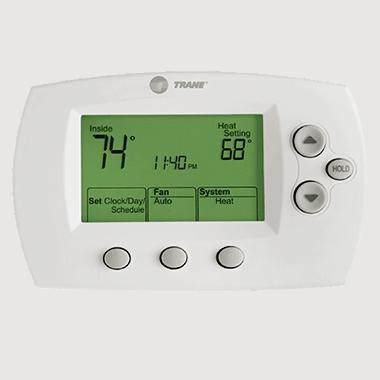 Trane XL602 thermostat.