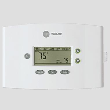 Trane XR401 thermostat.
