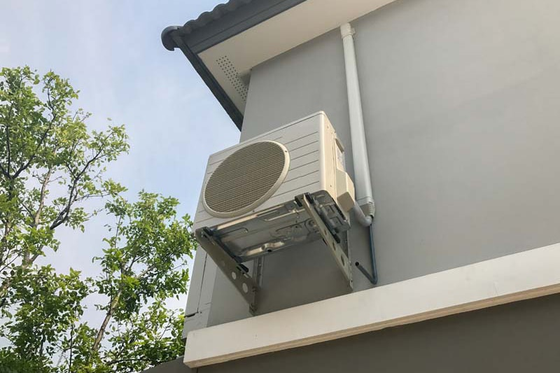 Air conditioner outside, What Does AC SEER Mean?   Air Conditioning Information   Vailes