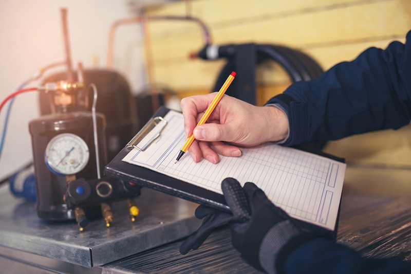 Notes on a clipboard, Mythbusters: The Bigger the HVAC System, The Better | Vailes