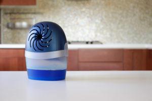little fan on counter top