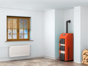 furnace in the room in Fishersville, VA